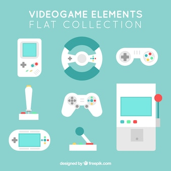 Objects set for video games