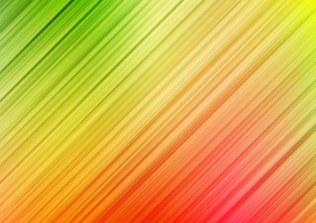 斜めの線の縞模様のカラフルな抽象的な背景