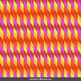 Oblique rhombus pattern