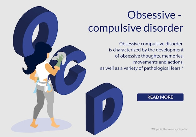 Obsessive compulsive mental health disorder, ocd