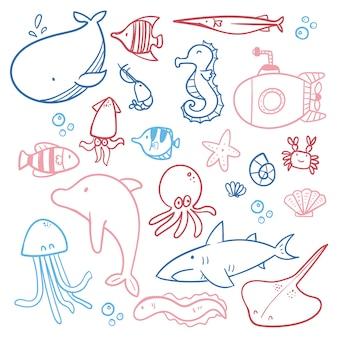 Ocean character sketch