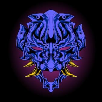 Ocean demon mask