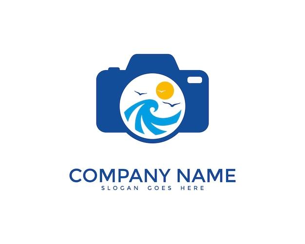 Ocean photography logo design