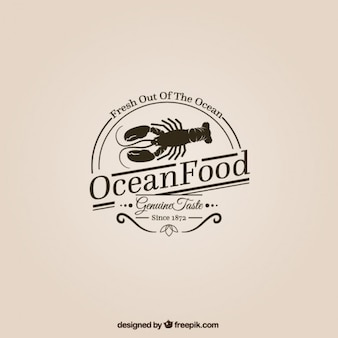 Ocean еда логотип