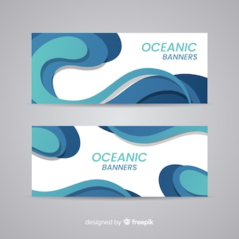 Oceanic banners