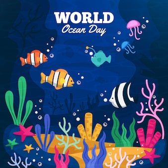 День океанов с рыбками