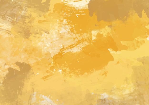 黄土色のペイントテクスチャの背景。抽象的なデザイン。