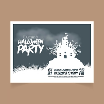 October 31st halloween party