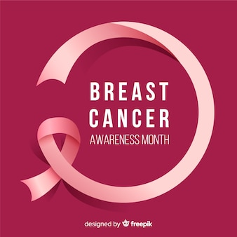 October breast cancer awareness month campaign