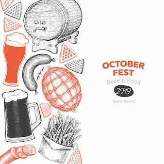 Octoberfest banner template.