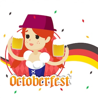 Octoberfest illustration