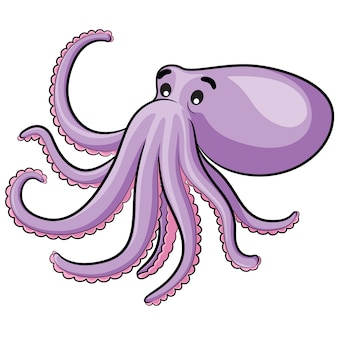 Octopus cartoon