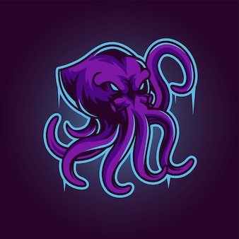 Octopus esport gamingロゴ