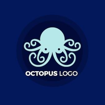Концепция логотипа осьминог