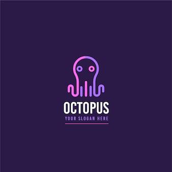 Octopus logo design concept