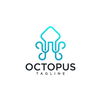 Octopus logo templates