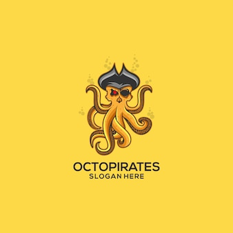 Octopus pirates logo