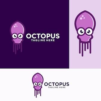 Шаблоны логотипов octopus