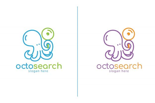 Шаблон логотипа octosearch