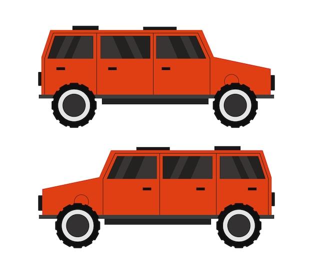 Off-road 4x4 vehicle