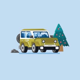 Off-road adventure car