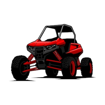 Off road illustration