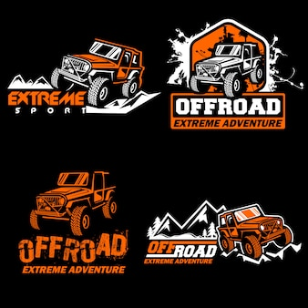 Off road label set