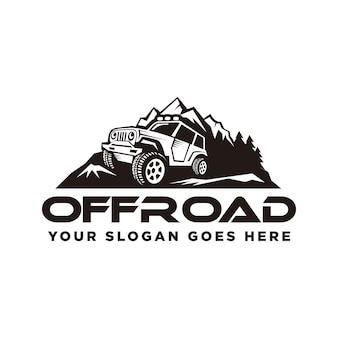 Off road logo, off road adventures