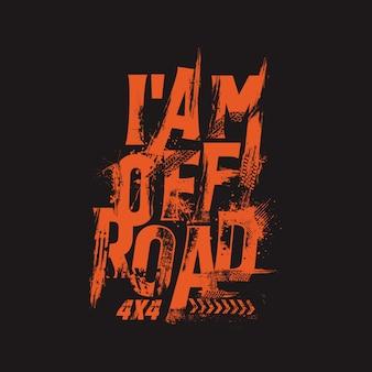 Off road text