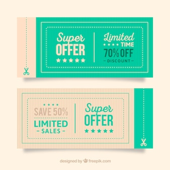 Coupon vectors photos and psd files free download offer coupons fandeluxe Images