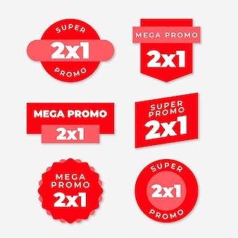 Offrire etichette promozionali