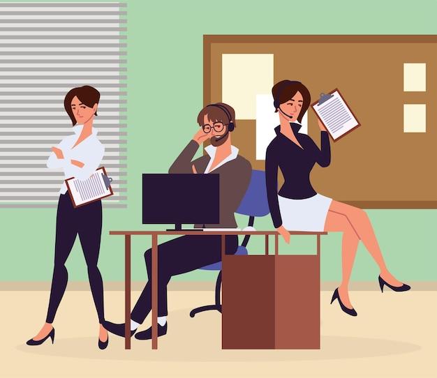 Офисные помощники, работающие с документами
