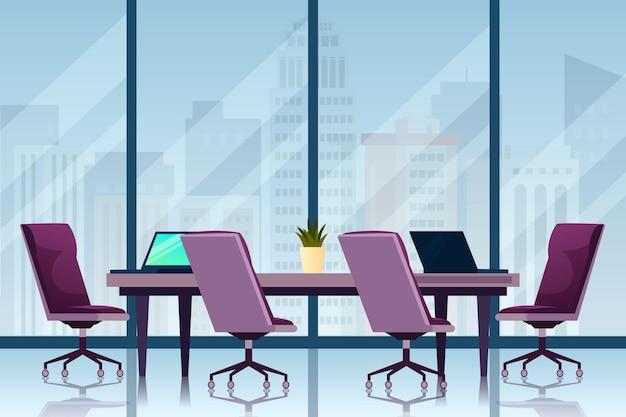 オフィス背景デザイン