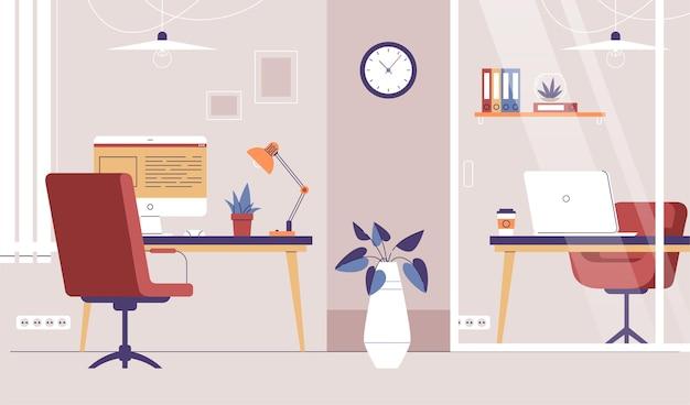 Дизайн офисного фона