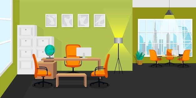 Офисный фон для видеоконференций
