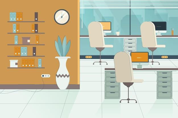 オフィス-ビデオ会議の背景