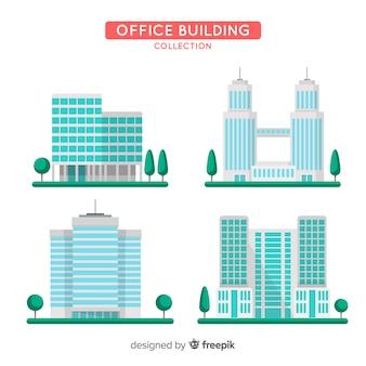 Сбор офисного здания