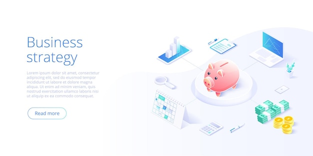 Office desk with piggy bank, money and business documents. auditors workplace. calculating payment, salary or taxes