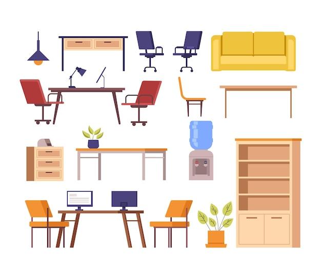 オフィス家具隔離セット