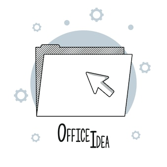 Office ideas doodles