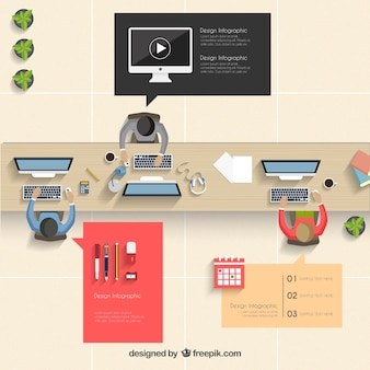 Office infographic