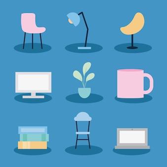 Office objects set