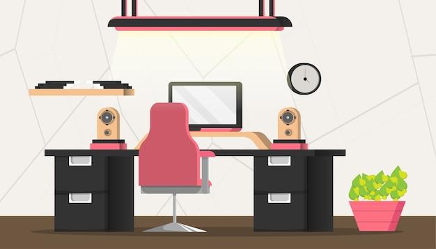 事務室、ワークスペース