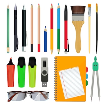 Office stationery or school equipment.