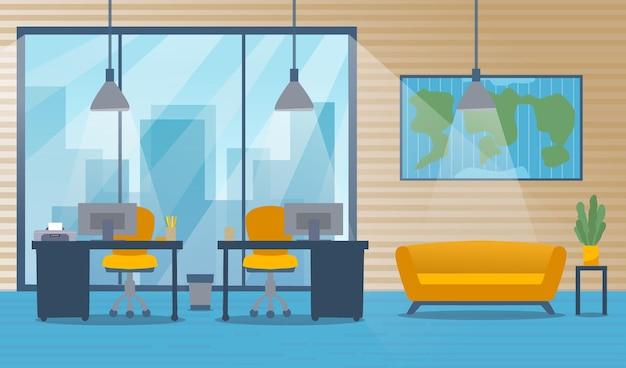ビデオ会議用のオフィスの壁紙