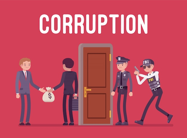 Officials arrested in corruption case