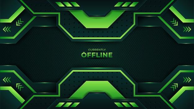 Offline background template