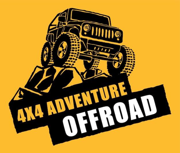 Offroad adventure logo