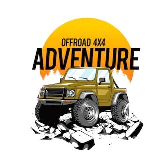 Offroad artwork для футболок товаров