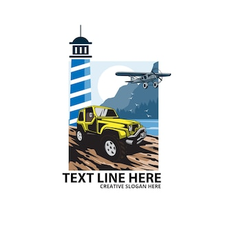 Offroad and the lighthouse